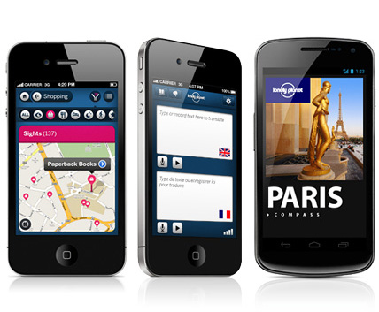 Lonely planet is now on your smart phone, digga damn.