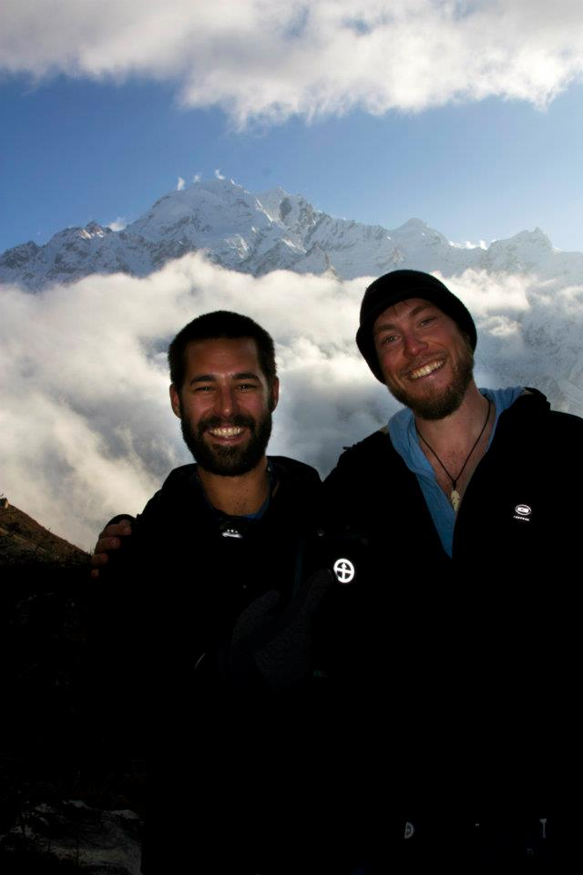 My buddy Jonsie shortly after he rescued my ass after I was trapped on a Himalayan Mountain in Nepal. Definitely an Accountabili-buddy.