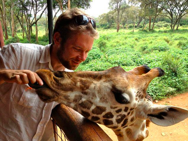 Luke: Writer, Poet, Singer, Lover of Giraffes.