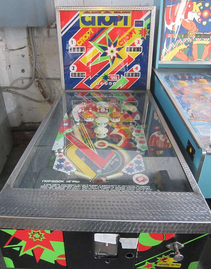 Pinball, the universal language of video gaming.