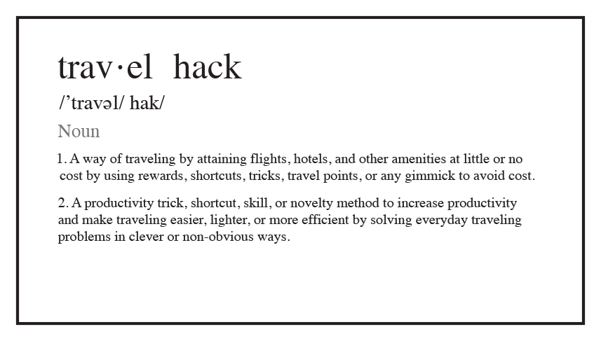 Weekly Travel Hack